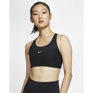 Nike Black Dri-Fit Racerback Sports Bra Small